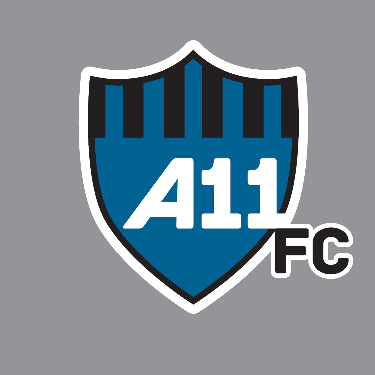 A11 FC Logo proofs
