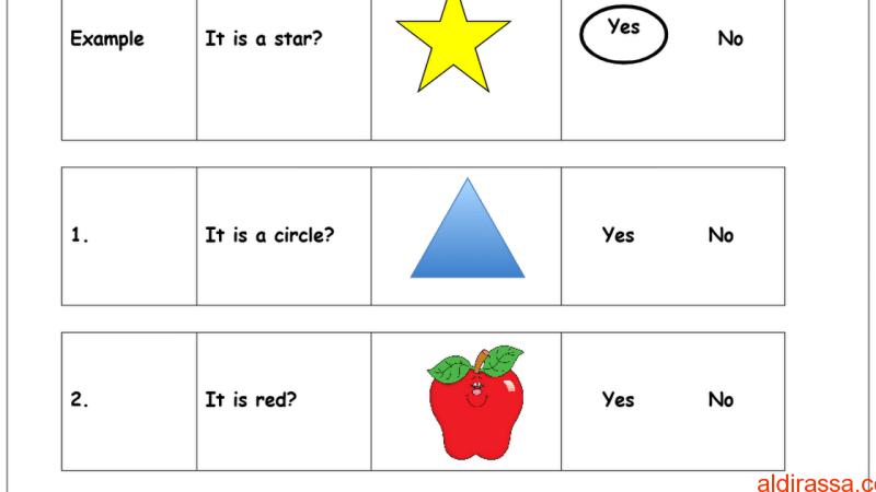 نموذج امتحان لغة إنجليزية الفصل الاول الصف الاول