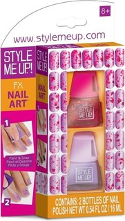 Wooky Entertainment Style Me Up Chalkboard Nail Art Kit