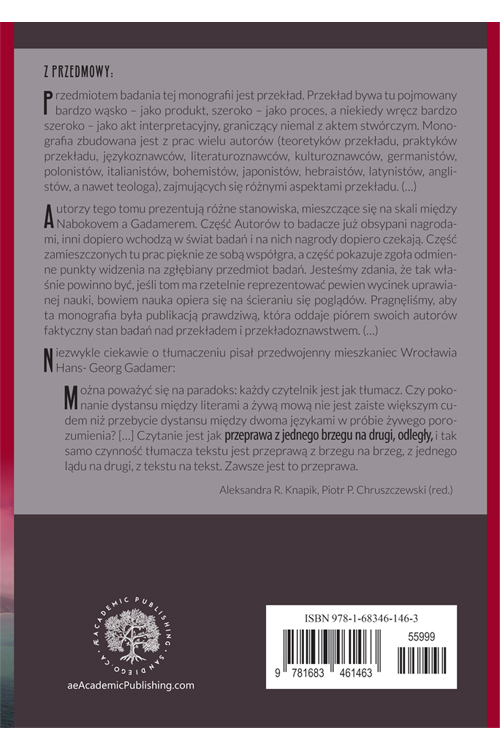 Beyond Language Vol. 1 back cover