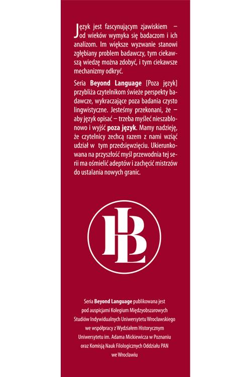 Beyond Language Vol. 1 front gatefold