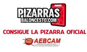 Pizarra Baloncesto OFICIAL personalizable AEBCAM