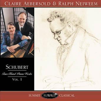 Schubert: Four-Hand Piano Works, vol. 1 – Aebersold and Neiweem piano duo
