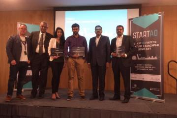 First place in startAD fintech venture launchpad