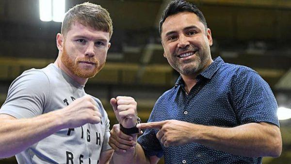 Óscar de la Hoya afirma que él impulsó la carrera del Canelo y lamenta que no tenga el reconocimiento del boxeador