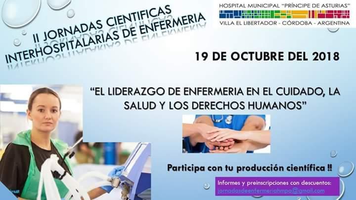 II Jornadas Cientificas Interhospitalarias de Enfermeria