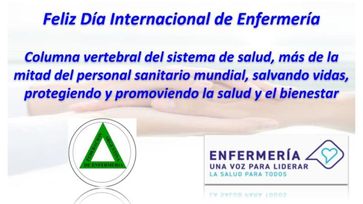 Saludos recibidos por el Día Internacional de la Enfermería 1