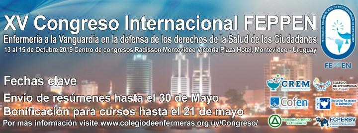 XV Congreso Internacional FEPPEN - 13 al 15 de Octubre - Montevideo, Uruguay 2
