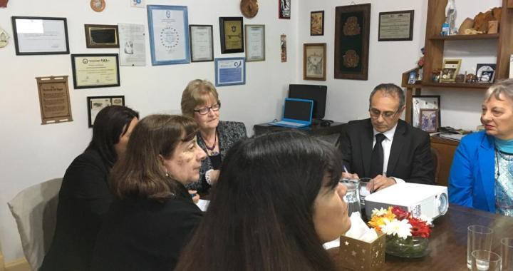 AEC en la visita de Annette Kennedy, Presidenta del CIE 1