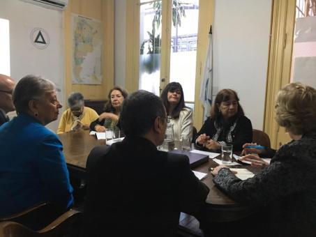 AEC en la visita de Annette Kennedy, Presidenta del CIE 2