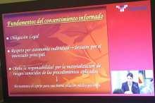 """Transmisión en la sede de AEC: Coloquio de Bioética """"Responsabilidad Médica y Mala Praxis"""" 4"""