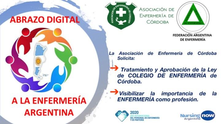 Federación Argentina de Enfermería: Abrazo digital a Enfermería 1