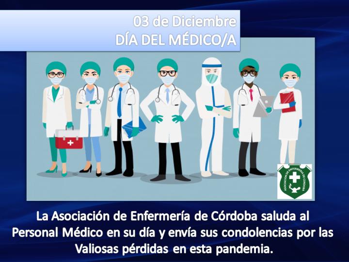 Salutaciones por el Día del Médico/a