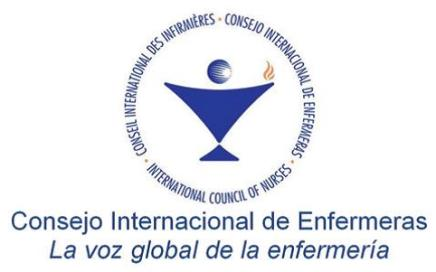 "Webinario del Consejo Internacional de Enfermeras (CIE): ""COVID-19 PANDEMIC & THE AMERICAS WHERE ARE WE NOW? 1"