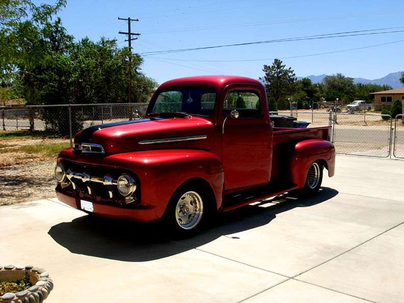 1952 Ford F 100 Pick Up Truck