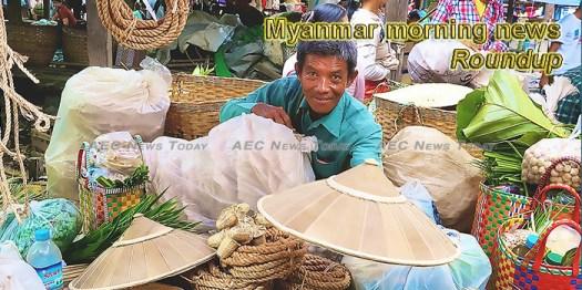 Myanmar morning news for June 25