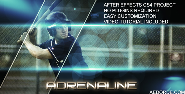 Adrenaline - After Effects Project