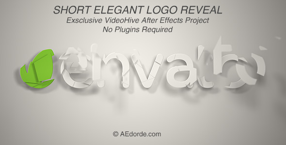 Short Elegant Logo Reveal