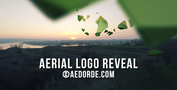 aerial logo reveal