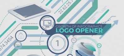 Growth Of Infographics Logo Opener