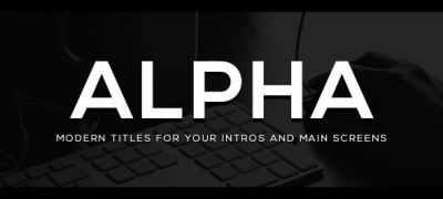 Alpha Titles