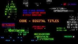 Code - Digital Titles