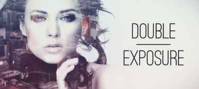 Double Exposure Parallax Titles