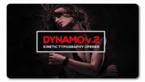 Dynamic Typography Opener v2