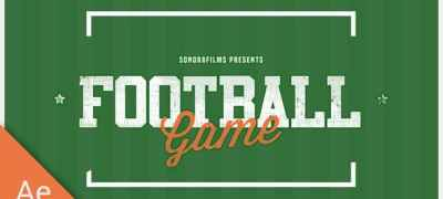Football Game Promo