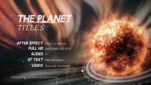 The Planet Titles
