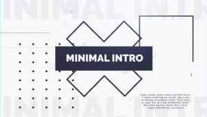 Minimal Intro