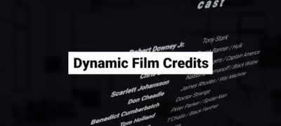 Dynamic Film Credits