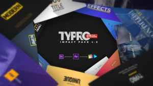 Typro - ImpactPack | 275 Title Animations