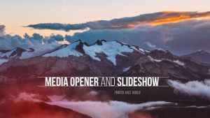 Media Opener - Slideshow