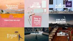 Liquid Titles Collection| After Effects Template