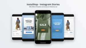 InstaShop - Instagram Stories