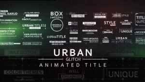 30 Fast Glitch Urban Titles