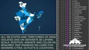 India Map Kit