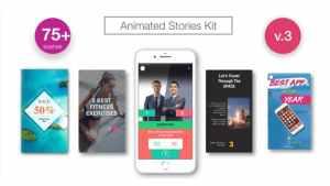 Animated Stories Kit // Instagram, Snapchat, Facebook