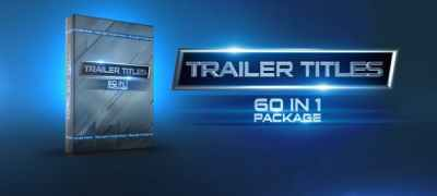 Trailer Titles Pack
