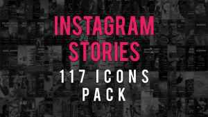 Instagram Stories Icons Pack