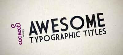 HD Kinetic Typography