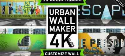 Urban Wall Kit | Graffiti Street Art