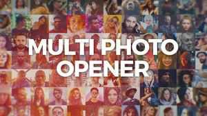 Multi Photo Logo Opener