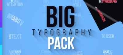 Big Typography Pack