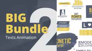 Texts Animation Bundle Pack 2