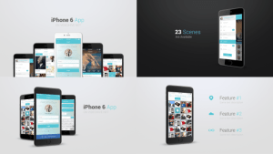 Iphone 6 App Presentation Kit
