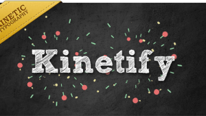 Kinetify, sends a happy message.