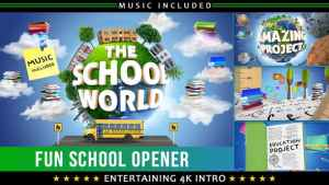 School Education Kids Intro