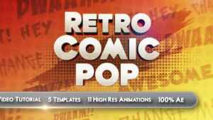 Retro Comic Pop